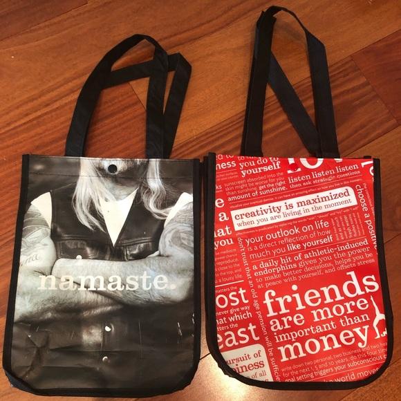 lululemon Reusable tote gym Bags